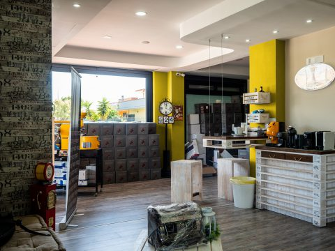 Ti Gusto Caffè - Visual esterno + miglioramento interni pv