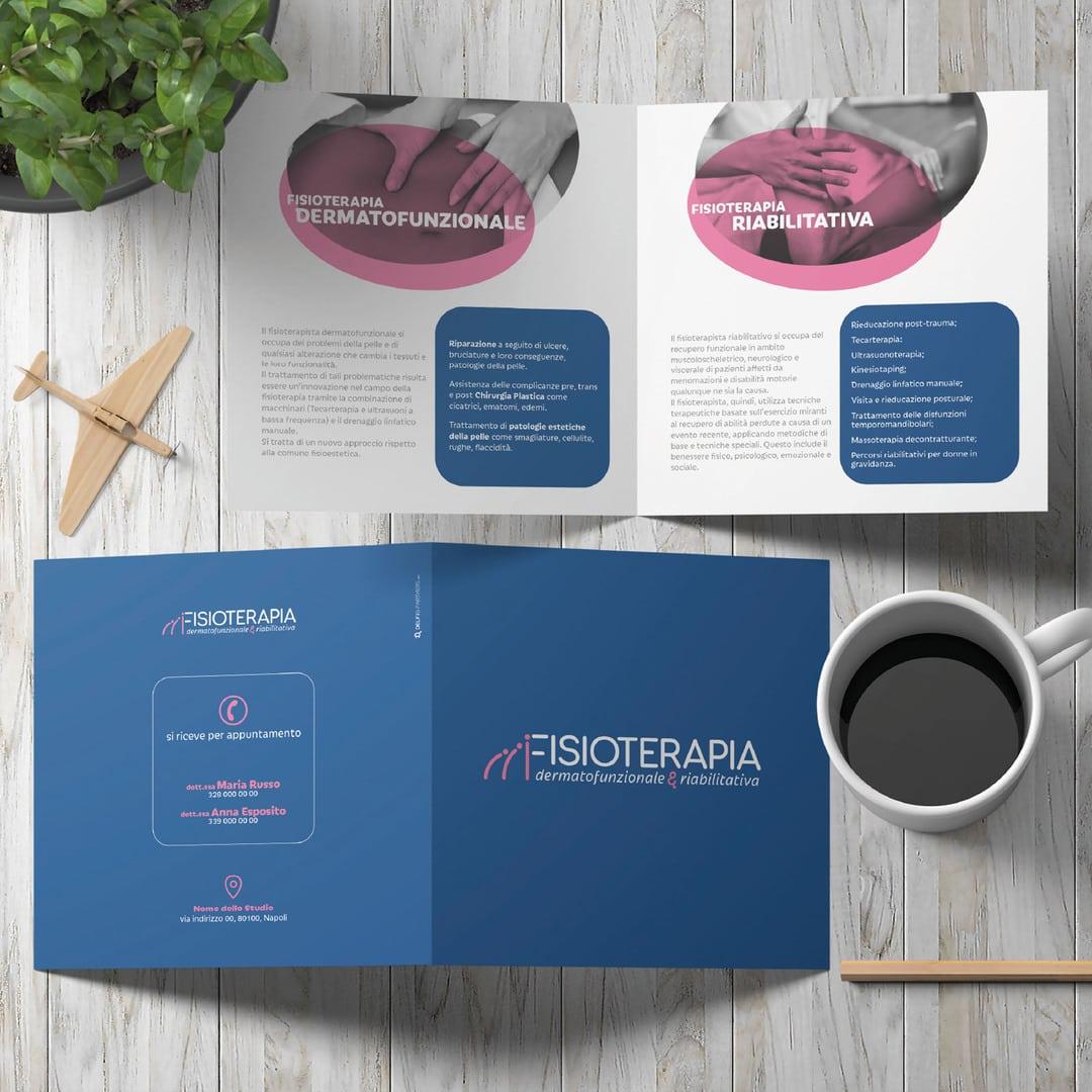 FIsioterapia dermatofunzionale & riabilitazione - Branding Design by DelfiAdv