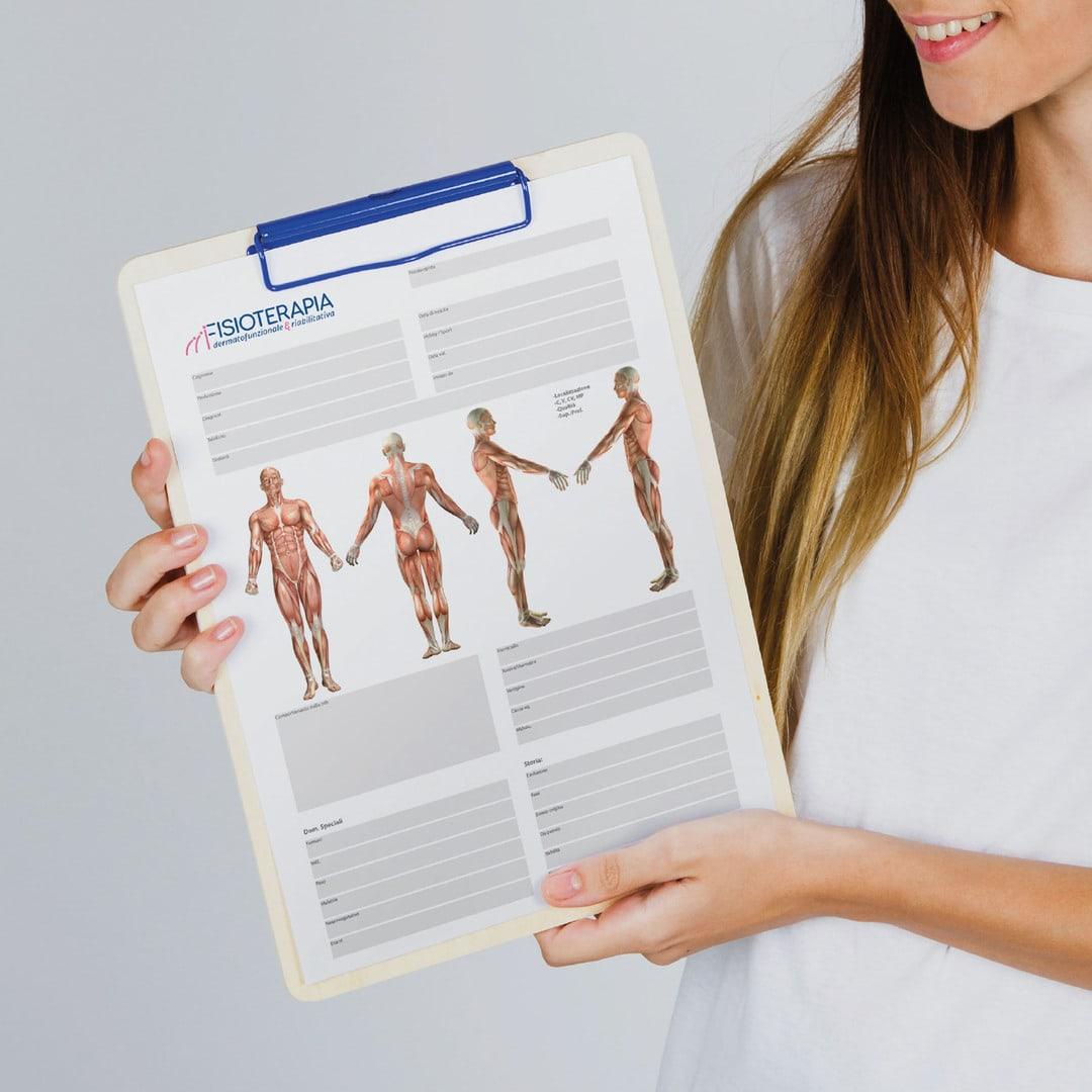 FIsioterapia dermatofunzionale & riabilitazione branding design adv by DelfiAdv