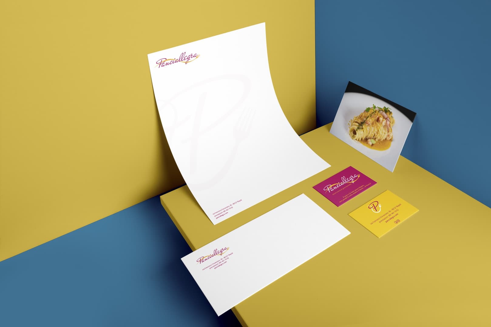 Panciallegra Restaurant - Branding by DelfiAdv.it