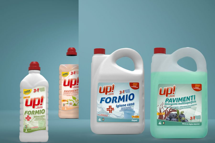 Up Detergenti - Design by DelfiAdv
