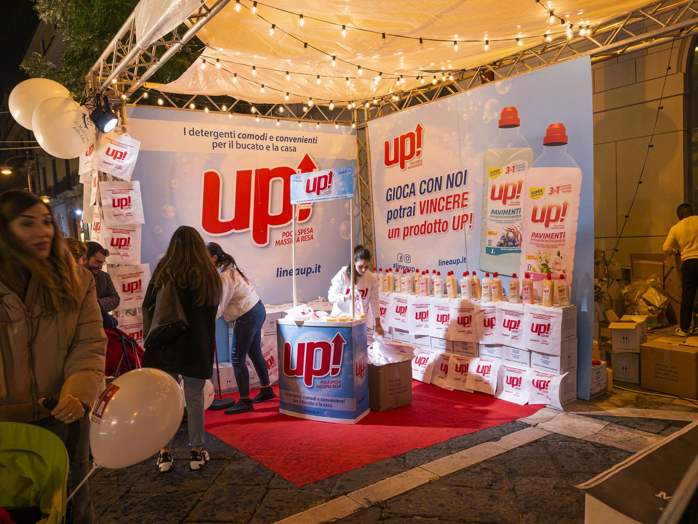 Up Detergenti - Event management by DelfiAdv
