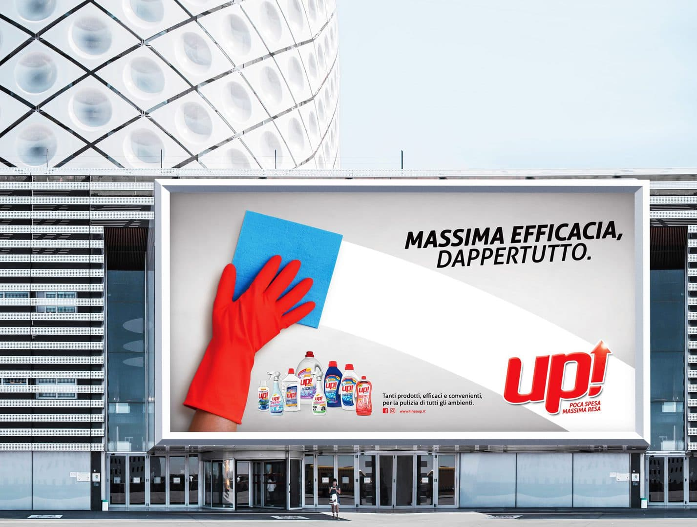 Up Detergenti - Design by DelfiAdv