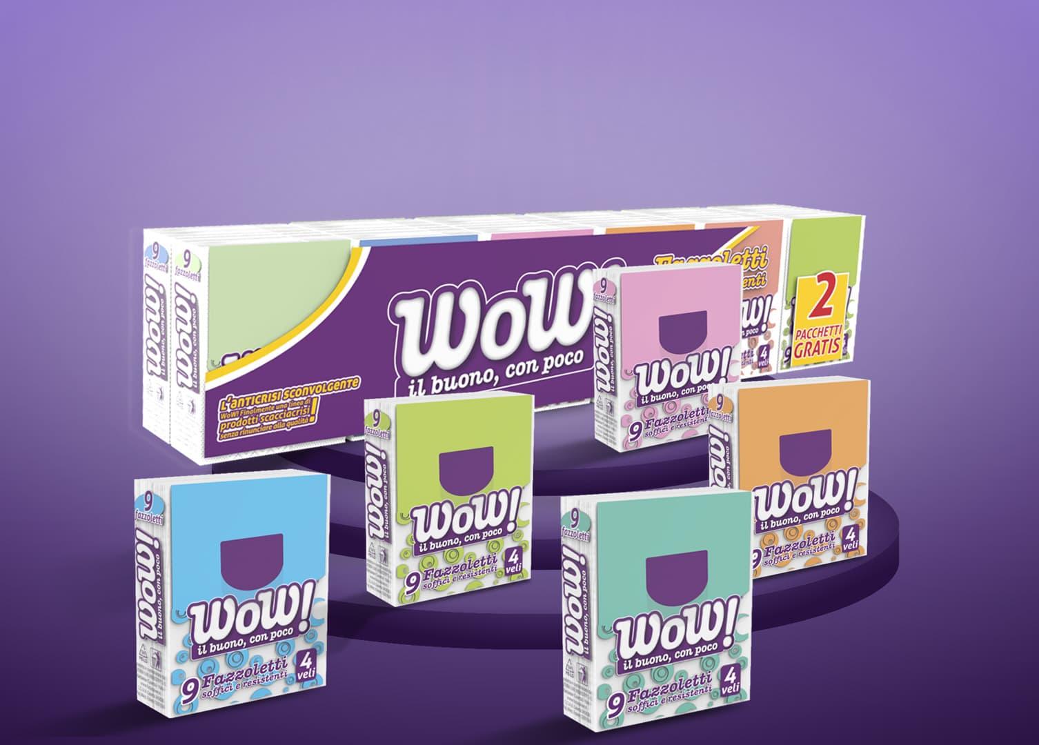 Carta Wow! | Design by DelfiAdv.it