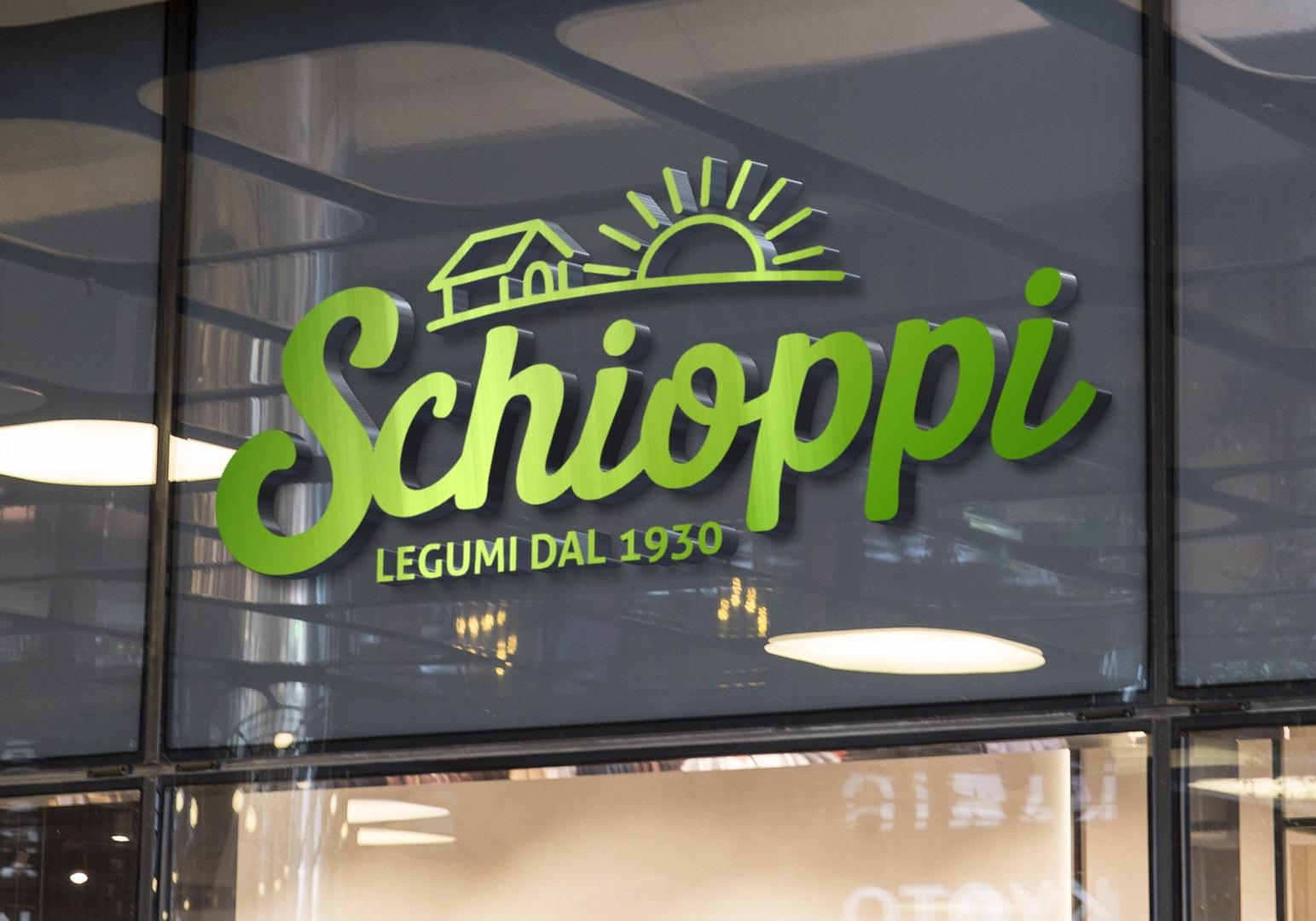 Schioppi Legumi - Design by DelfiAdv